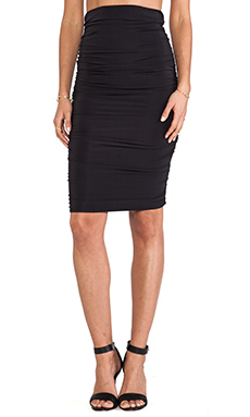 By Malene Birger Smooth Interlock Reminda Skirt in Black