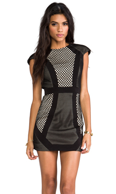 Cameo Spirits Dress in Black