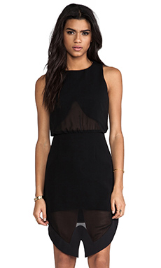 Cameo Mountain Sound Dress in Black