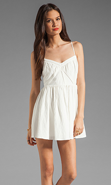 Cameo VCR Dress in Ivory