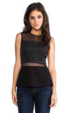 camilla and marc Leading Edge Top in Black