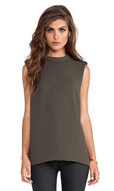 camilla and marc Vertex Top in Khaki