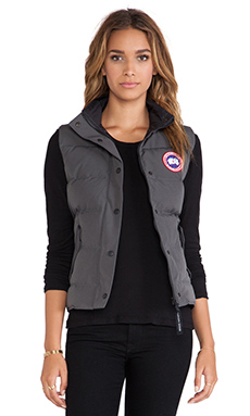 Canada Goose Freestyle Vest in Graphite