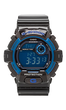 G-Shock X-Large 8900 in Black/Blue