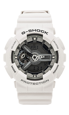 G-Shock X-Large Combi Monotone in White/Grey