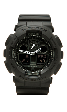 G-Shock Big Combi Military Series in Black