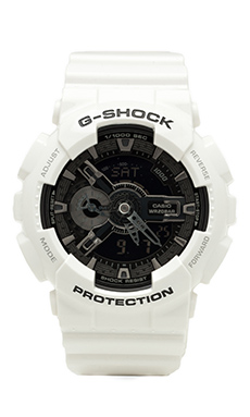 G-Shock Garish GA-110 in White