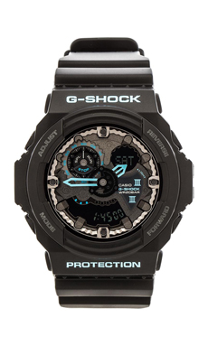 G-Shock GA300 Blue Accent in Black & Blue