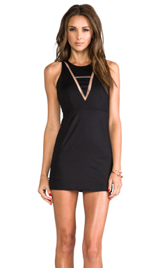 Casper & Pearl Montana Tank Dress in Black