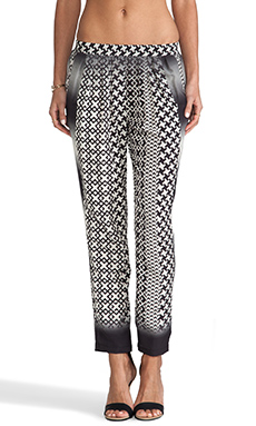 Charles Henry Ombre Pant in Black & White