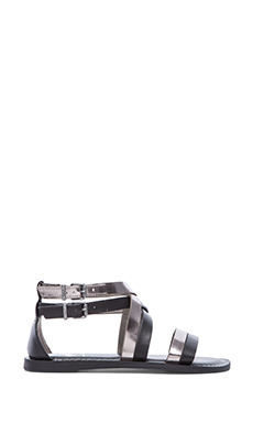Circus by Sam Edelman Maxon Sandal in Black & Mercury