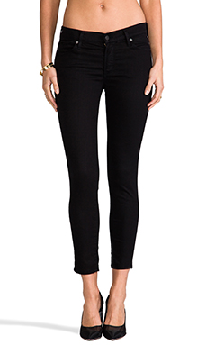 Citizens of Humanity Avedon Skinny Ankle in Black Diamond