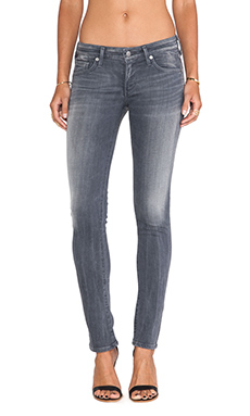 Citizens of Humanity Racer Skinny in Cinder