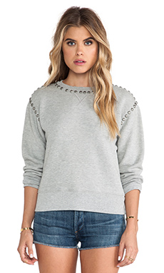 Citizens of Humanity Premium Vintage Camryn Sweatshirt en Studded Heather