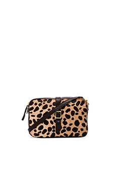 Clare Vivier Mini Sac in Leopard