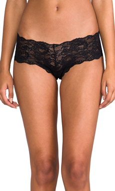 Cosabella Never Say Never Naughtie LR Hot Pant in Black