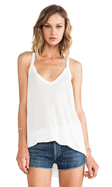 Chaser V-Neck Cami in White