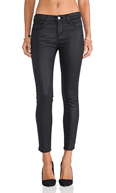 Current/Elliott The Stiletto Skinny in Black Coated