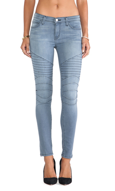 Current/Elliott The Moto Ankle Skinny in Briggs