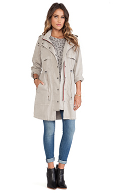 Current/Elliott The Bridgeport Parka en Ecru