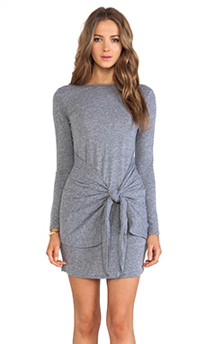 DeLacy Drew Dress in Grey