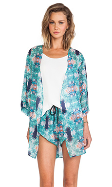 DeLacy Liz Wrap in Multi