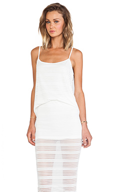 DeLacy Olivia Tank in White