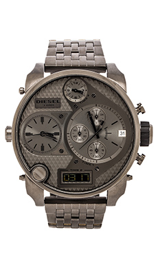 Diesel Mr. Daddy DZ7247 Watch in Grey