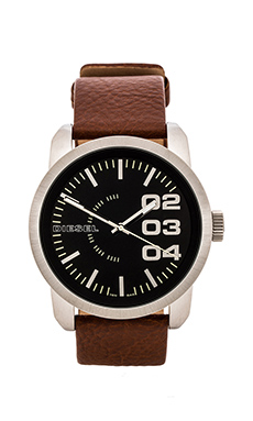 Diesel Franchise 46mm in Brown