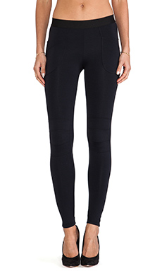 David Lerner New Moto Legging in Classic Black