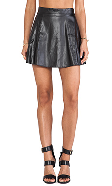 David Lerner New Bowery Skirt in Black