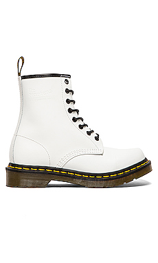 Dr. Martens Iconic 8 Eye Boot in White