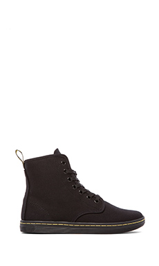 Dr. Martens Shoreditch 7-Eye Sneaker in Black