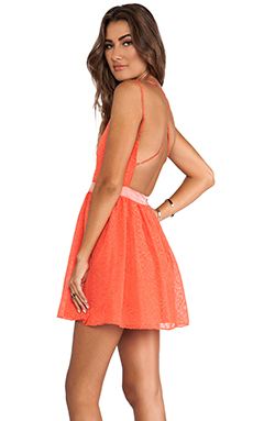 DV by Dolce Vita Hanni Dress in Bright Orange
