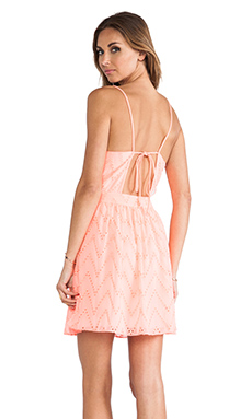 DV by Dolce Vita Caliban Dress in Peach