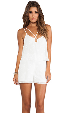 DV by Dolce Vita Loordes Romper in White