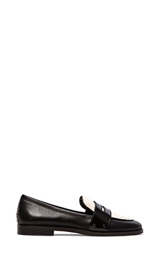 Dolce Vita Umbria Loafer in Black/White