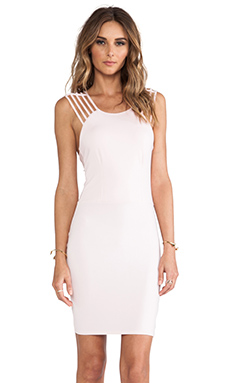 Donna Mizani Strap Dress in Light Pink