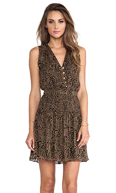 Diane von Furstenberg Zaeta Dress in Animal Warp