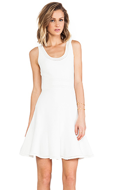 Diane von Furstenberg Perry Dress in White