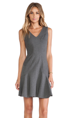 Diane von Furstenberg Carla Drop Waist Dress in Night Fall