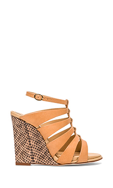 Diane von Furstenberg Wave Sandal in Natural