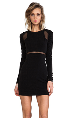 Elizabeth and James Charlene Dress in Black