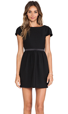 Elizabeth and James Waldorf Dress in Black