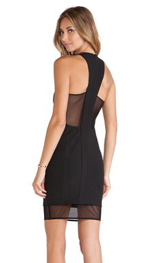 Elizabeth and James Parker Dress in Black