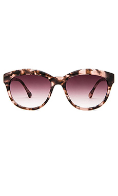 Elizabeth and James Orchard Sunglasses in Pink Tort