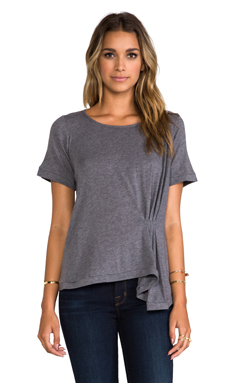 Elizabeth and James Ethan T-Shirt in Dark Heather Grey