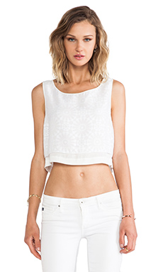 CROPPED MARTINE TOP