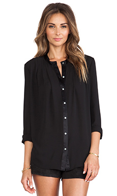 Elizabeth and James Lynde Blouse in Black