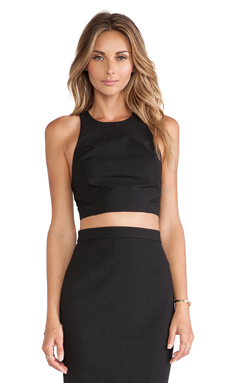 Elizabeth and James Ava Top in Black